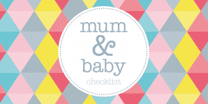new infant checklist