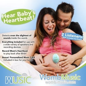 detect sounds inside the womb